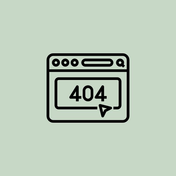 La información que da un 404