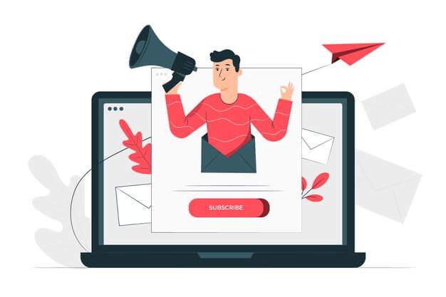 A la tarea de crear una newsletter