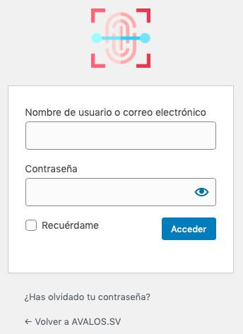 Imagen login personalizada