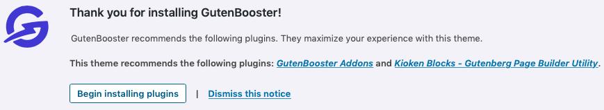 GutenBooster plugins extras recomendados