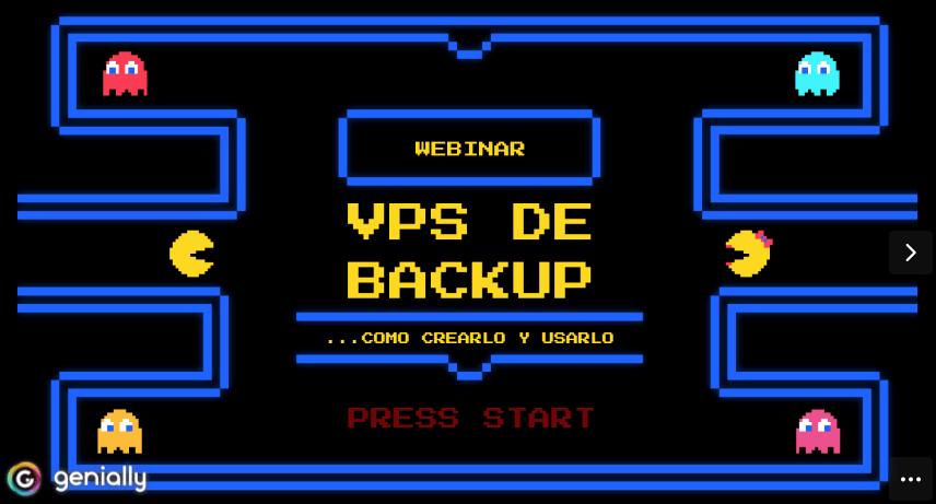 Crear VPS para Backup